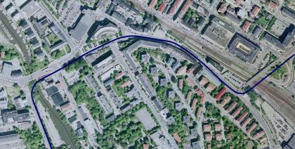 tvärbanan sundbyberg karta Tvärbana   Solnagrenen   Sundbybergs stad tvärbanan sundbyberg karta